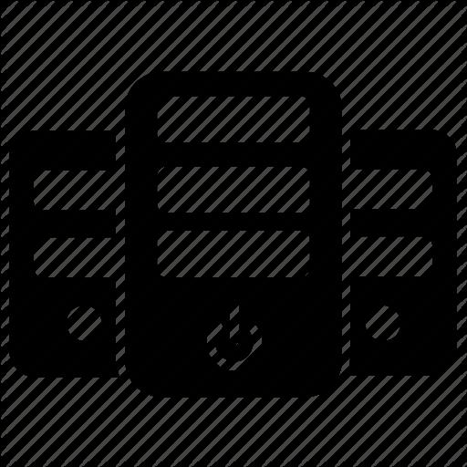 Computer Server, Database, Database Server, Server, Sql Icon