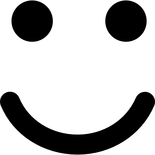 Smiling Emoticon Square Face Icons Free Download