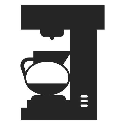 Coffee Maker Flat Icon