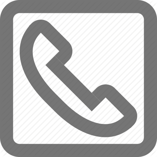 Call, Communication, Contact, Material, Phone, Square Icon
