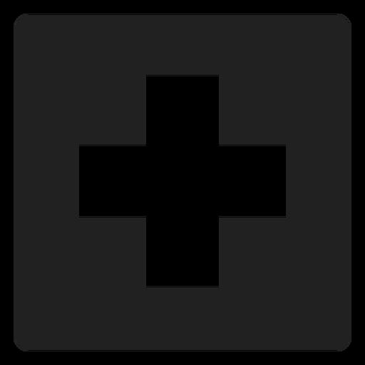 Cross Square Icon