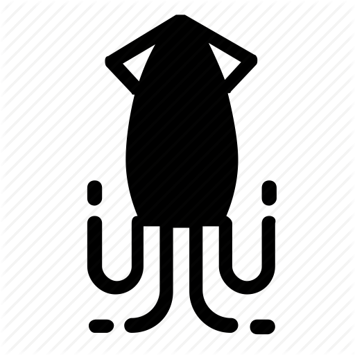 Animal, Squid Icon