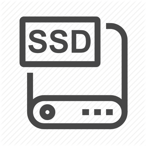 Harddisk, Host, Hosting, Memory, Server, Solid State Drive, Ssd Icon