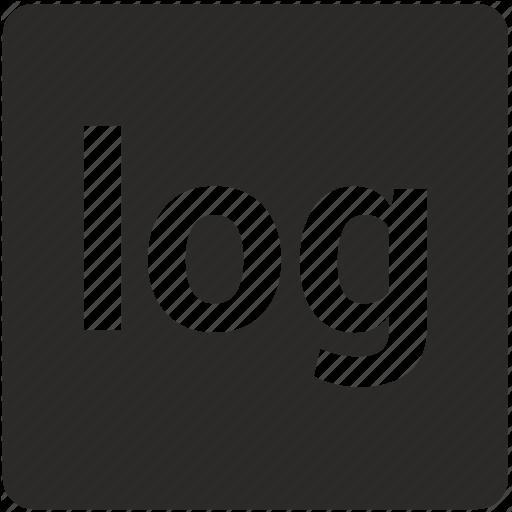 Function, Log, Logarithm, Math Icon