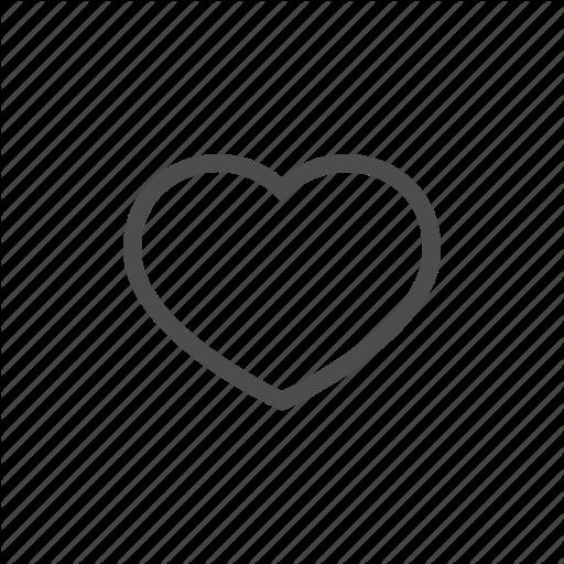 Heart, In Love, Love, Saint Valentine, Valentine's Day Icon