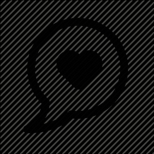 Chat, Dialog, Dialog Box, Heart, Love, Lovely, Message, Say, Speak