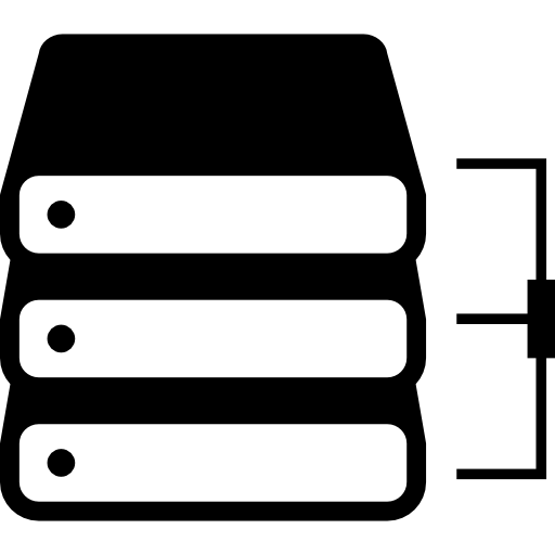 Stack Of Books With Bracket Icons Free Download