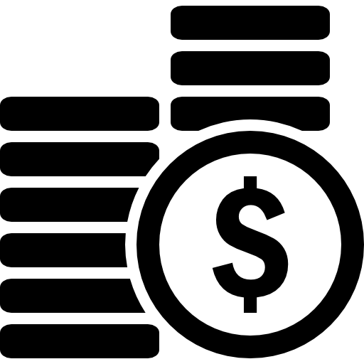 Coins Stacks Money Icons Free Download
