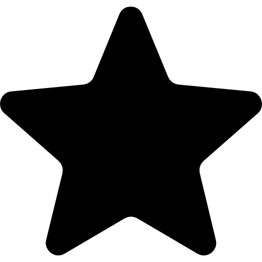 Favourites Filled Star Symbol Icons Free Download
