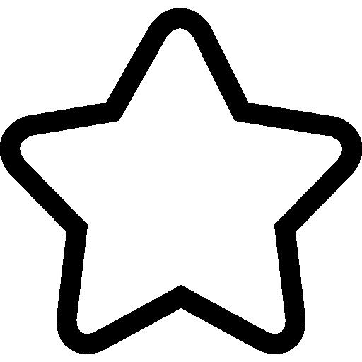 Star Outline Transparent Png Clipart Free Download