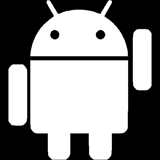 White Android Icon