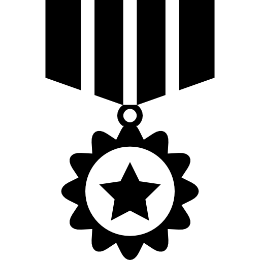 War Recognition Medal Icons Free Download