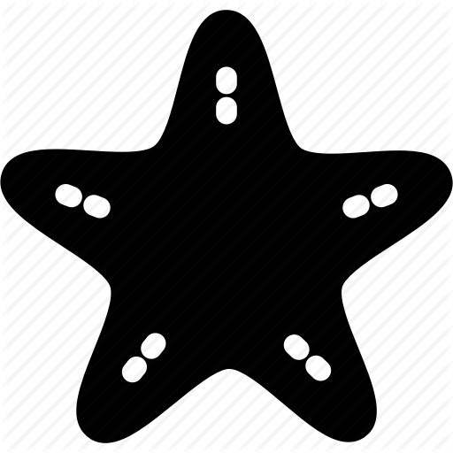 Beach, Star, Star Fish, Starfish Icon