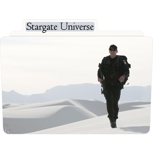 Stargate Universe Icon Tv Movie Folder Iconset Aaron Sinuhe