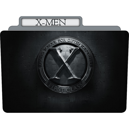 X Men Icon Tv Movie Folder Iconset Aaron Sinuhe