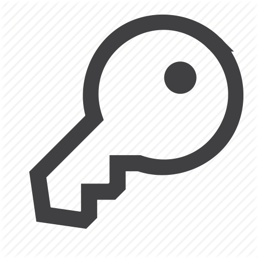 Key, Key Chain, Lock, Open Icon