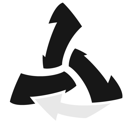 Trash Arrows Empty Icon Stark Iconset
