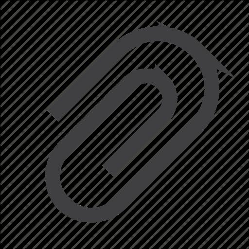 Attach, Attachment, File, Paperclip Icon