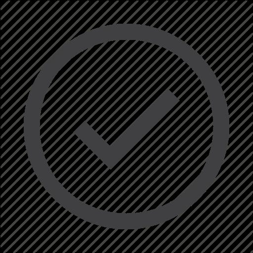 Check, Circle, Correct Icon