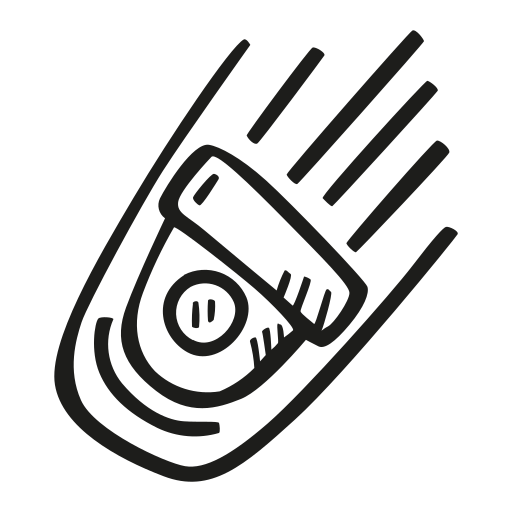 Falling, Space, Capsule Icon Free Of Space Hand Drawn Black Sticker
