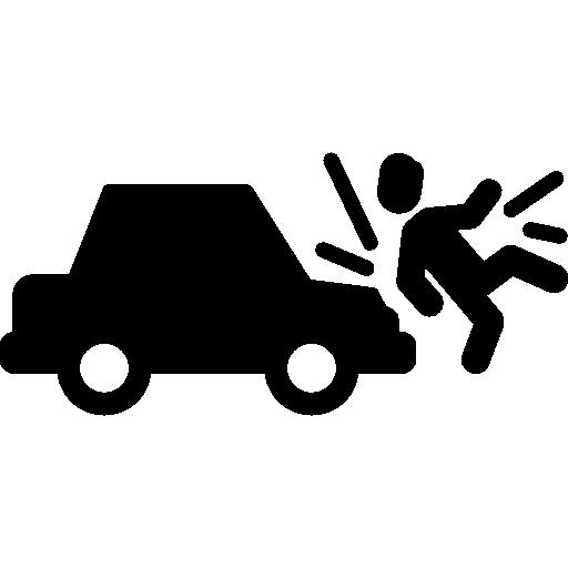 Car Run Over Man