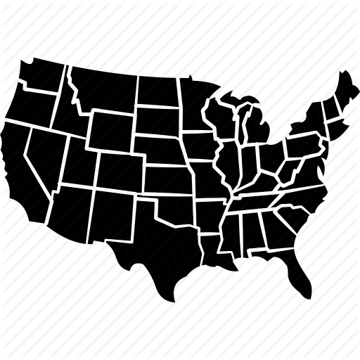 American, Country, Democracy, North America, United States Map, Us