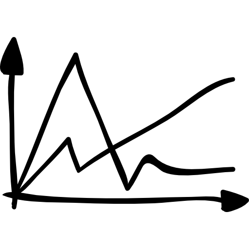 Statistics, Sketched, Interface, Stats, Graph, Graphic, Lines