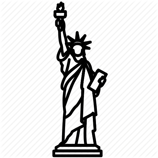 Landmark, Liberty, New York, Of, Statue, Travel, Wonder Icon