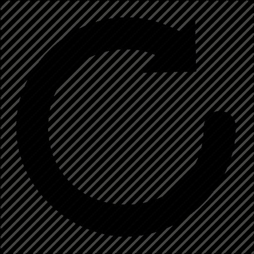 Bar, Big, Bold, Circular, Corner, Progress, Round Icon