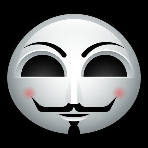 Guy Fawkes Icon Halloween Avatar Iconset Hopstarter