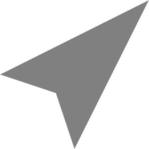 Gray Location Icon