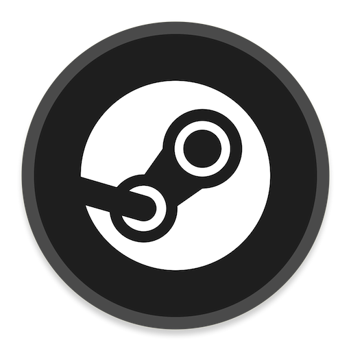 Steam Icon Button Ui