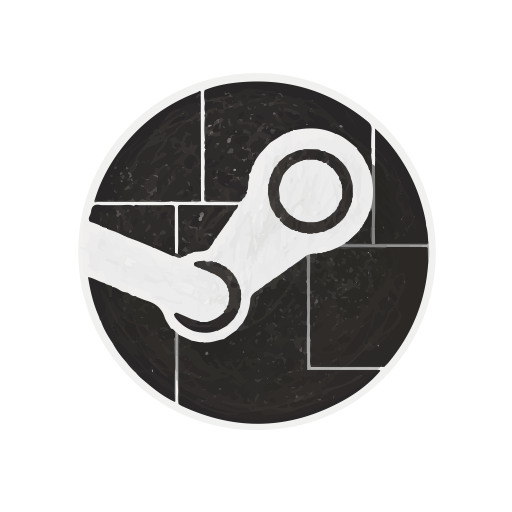 Steam Flat Icon