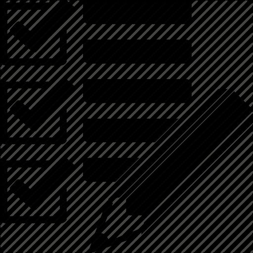 Application St Tasks List, Todo List Icon