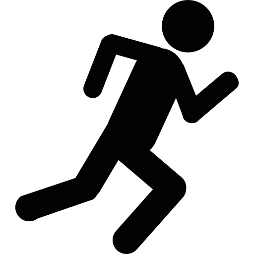 Running Stick Figure Png Icon