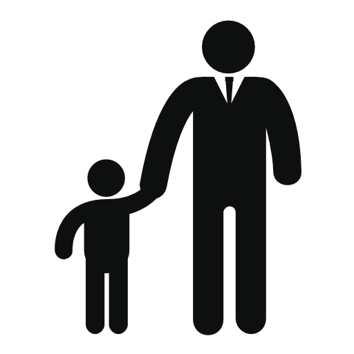 Father And Son Free Vector Icons Designed