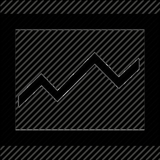 Stock Market Graph Icon Free Icons