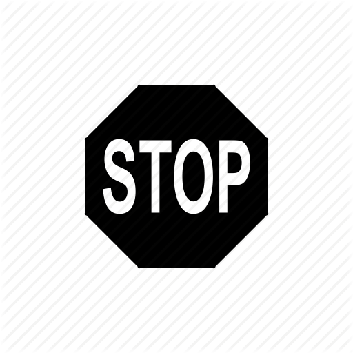 Control, Road Sign, Road Signs, Stop, Stop Sign Icon