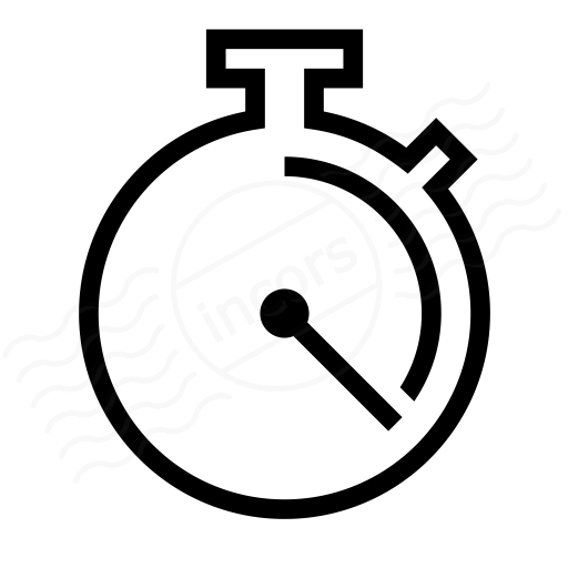 Iconexperience I Collection Stopwatch Icon