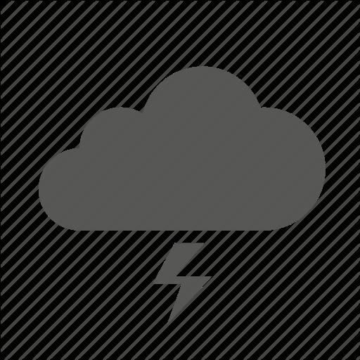 Storm Cloud Icon