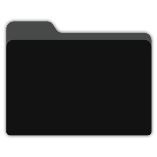 Black Folder Icon Png Writings And Essays Corner