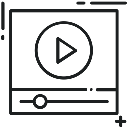 Film, Online, Video, Video, Video, Player, Video, Streaming Icon