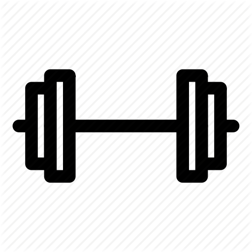 Barbell, Dumbbell, Sport, Strength, Strong Icon