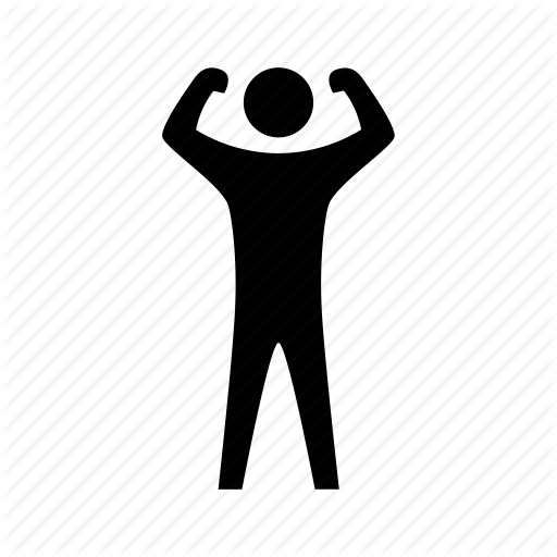 Exercise, Fitness, Health, Muscle, Sport, Strength, Training Icon