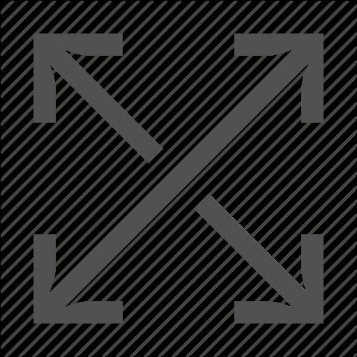 Arrow, Cross, Move, Resize, Size, Stretch Icon