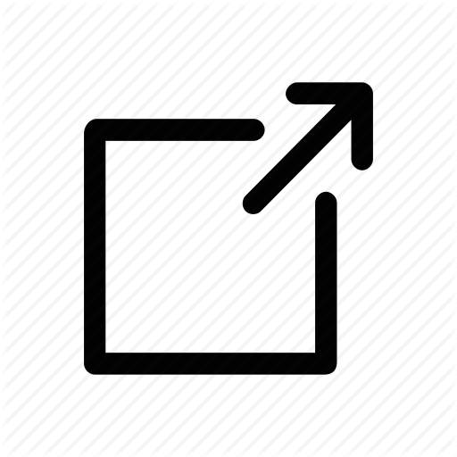 Arrow, Expand, Popup, Resize, Stretch Icon