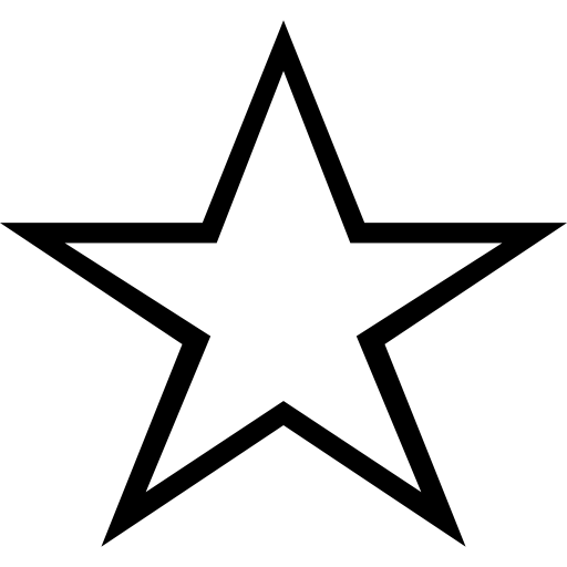 Star Stroke Icons Free Download