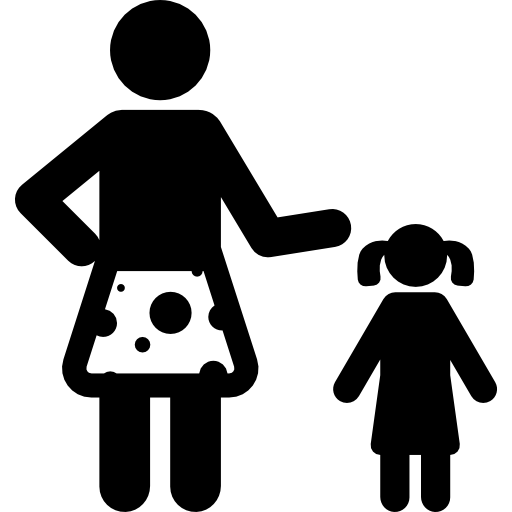 Woman And Girl Icons Free Download