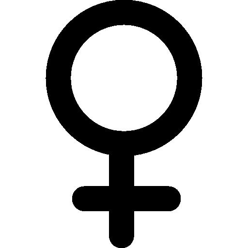 Female Gender Symbol Icons Free Download