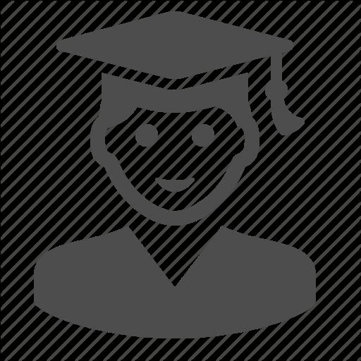 Boy, Education, Graduation Cap, Graduation Hat, Man, Student Icon